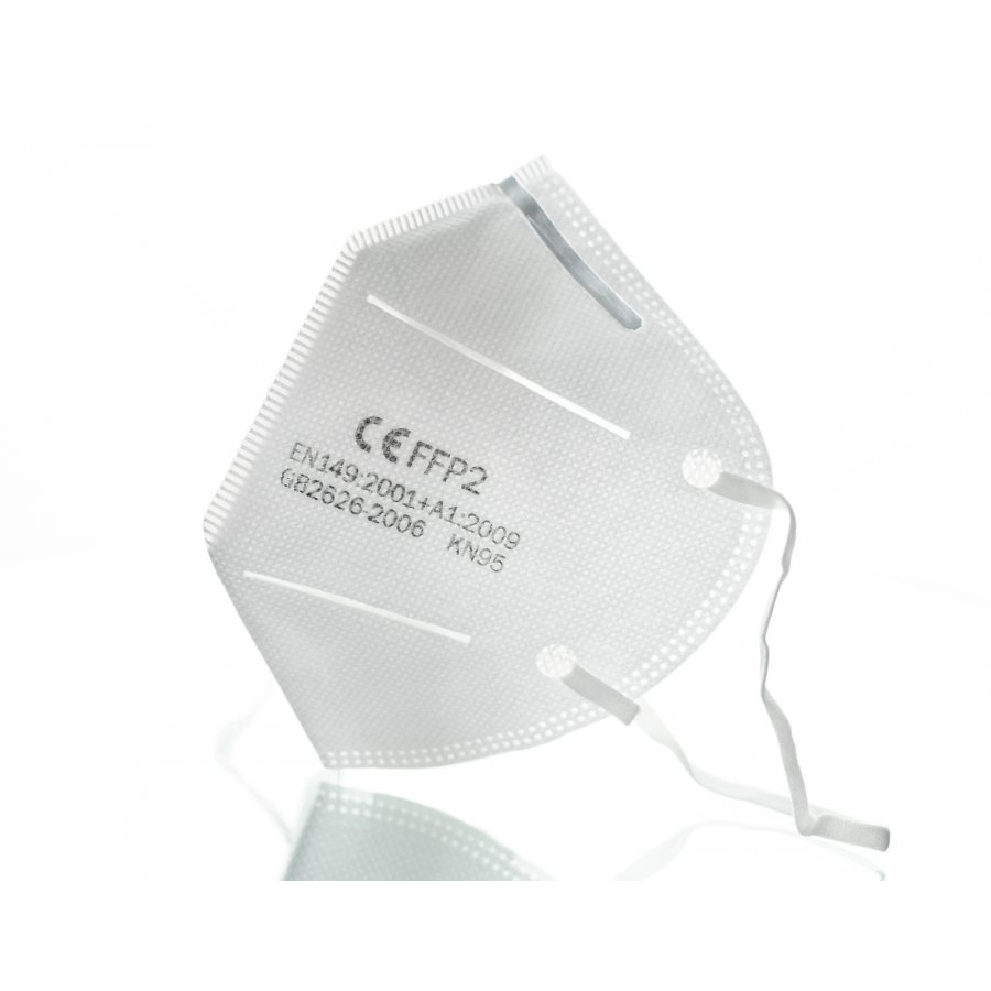 FFP2 Åndedrettsvern - Munnbeskyttelse - Ansiktsmaske (5 stk)
