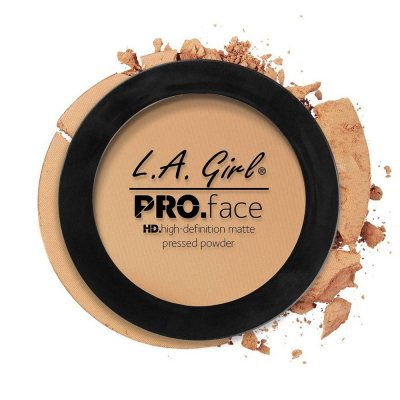 L.A. Girl Pro Face Matte Pressed Powder 08 Soft Honey