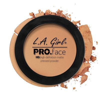 L.A. Girl Pro Face Matte Pressed Powder 07 Warm Honey