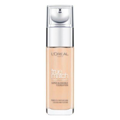 L'Oreal True Match Liquid Foundation 4W Natural Gold 30ml