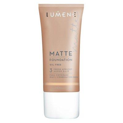 Lumene Oil Free Matte Foundation 3 Fresh Apricot 30ml