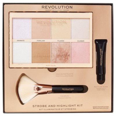 Makeup Revolution Strobe & Highlight Kit