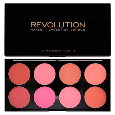 Makeup Revolution Ultra Blush Palette All About Cream