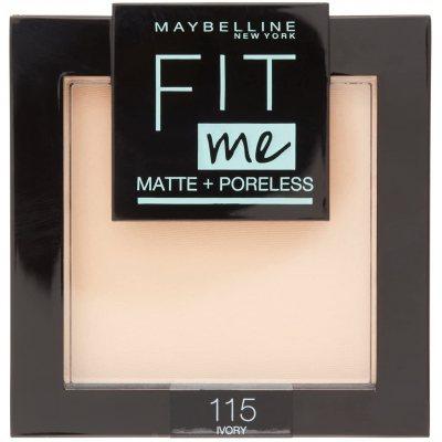 Maybelline Fit Me Matte + Poreless Powder 115 Ivory
