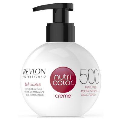 Revlon Nutri Color Creme 500 Purple Red 270ml