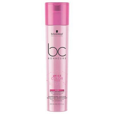 Schwarzkopf Bonacure Color Freeze Rich Micellar Shampoo 250ml